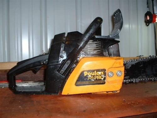 Poulan pro 335 54cc - Chainsaw Collectors se