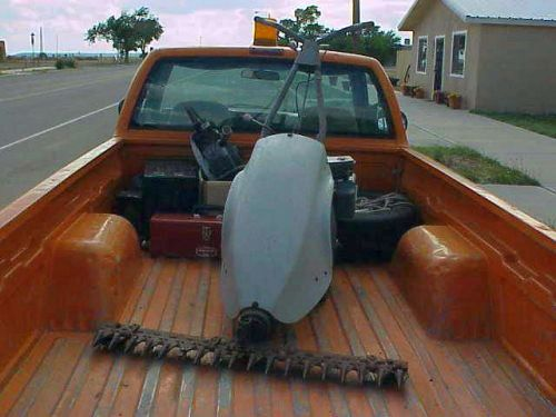 Northern Mexican Racing Snow Thrower - Chainsaw Collectors se