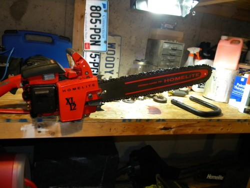 Homelite XL-12, Super XL-12, XL-12 Economy - Chainsaw Collectors se